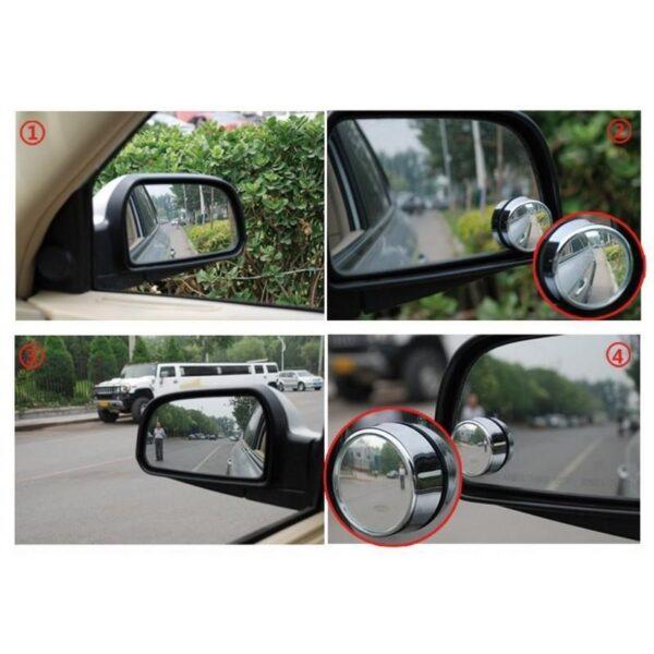 30949 - Дополнительное круглое зеркало заднего вида для автомобиля (пара)