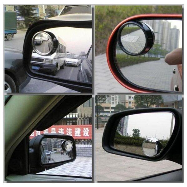 30954 - Дополнительное круглое зеркало заднего вида для автомобиля (пара)
