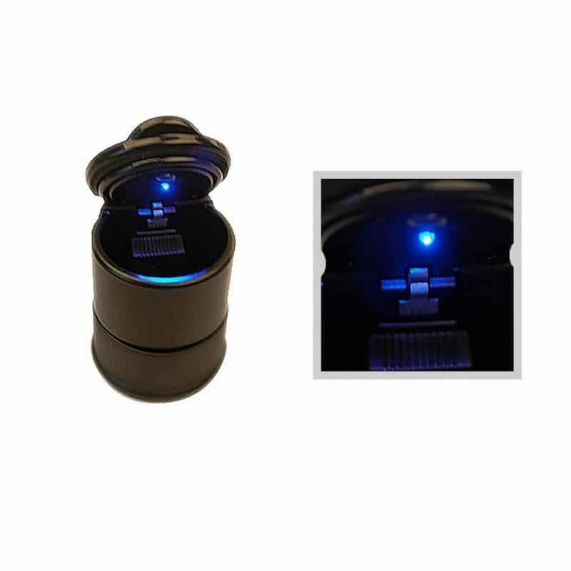 Автомобильная пепельница с LED подсветкой 207578