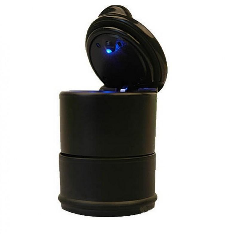 Автомобильная пепельница с LED подсветкой