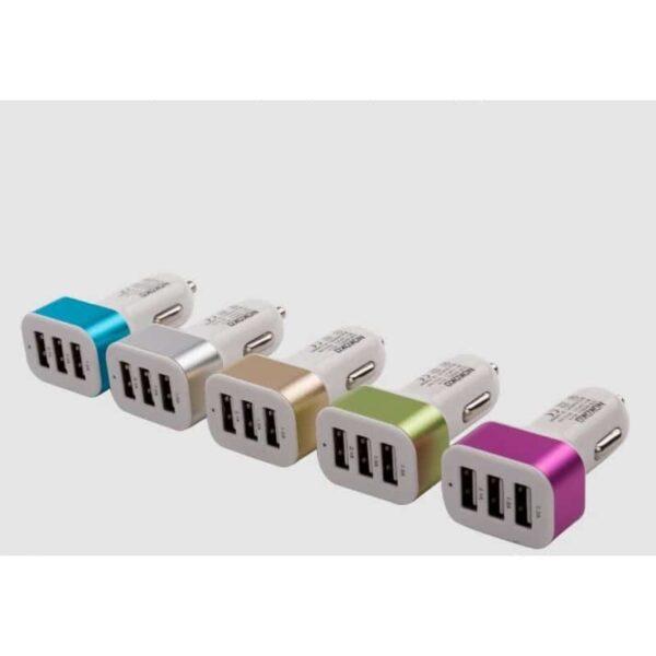 30975 - Автомобильное зарядное устройство Nokoko А-4825 - 3 х USB, 2.1 A, 1 А, 1 А