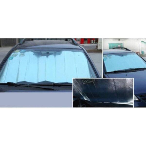 31044 - Складной автомобильный солнцезащитный козырек-коврик из алюминиевой фольги