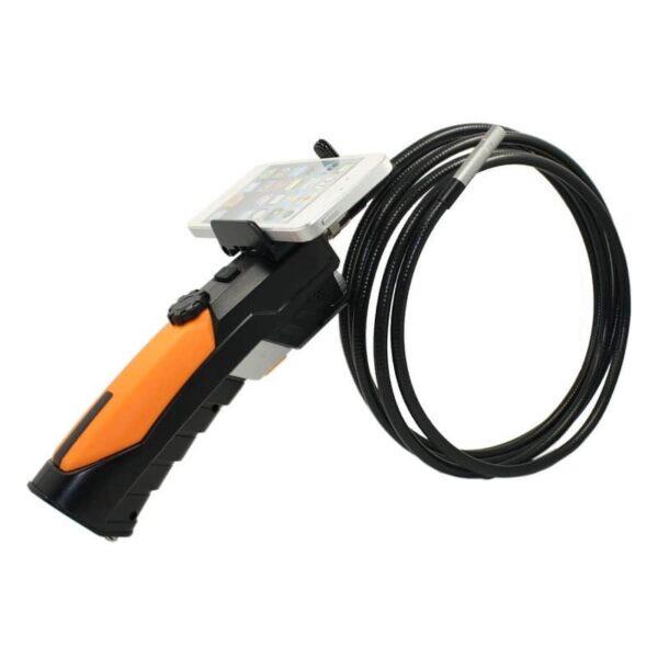 31078 - Профессиональный эндоскоп TESLONG WF200-1 - IP67, Wi-Fi, 8.5 мм диаметр, 1 м длина, 2 Мп CMOS, 1280х720, 6 светодиодов