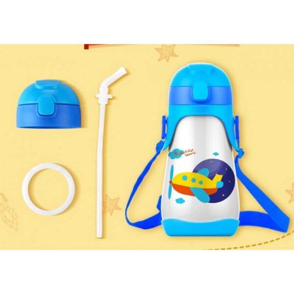 31457 - Детский питьевой термос на 430 мл Fu Guang Mult