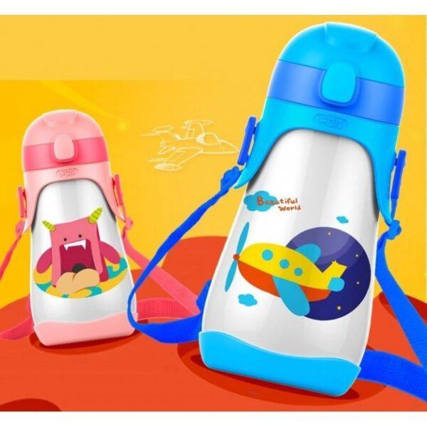 31460 - Детский питьевой термос на 430 мл Fu Guang Mult