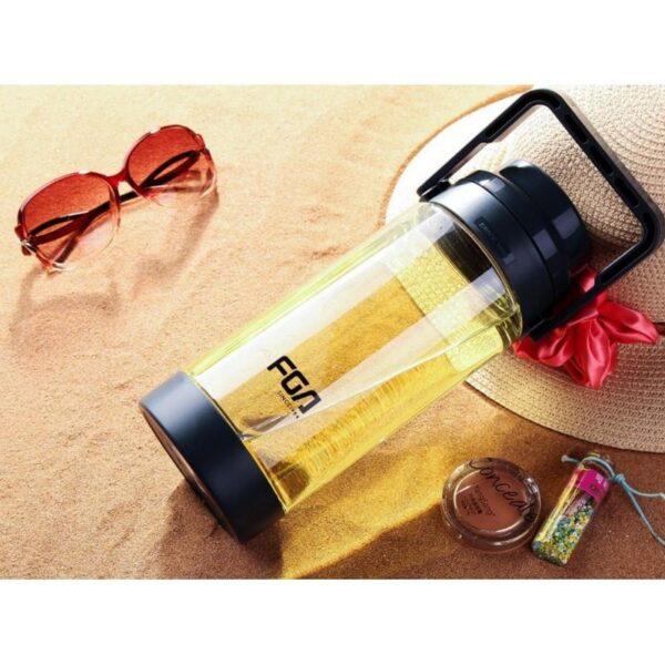 31467 - Большая пластиковая бутылка для воды Fu Guang Big на 1500 мл с ручкой