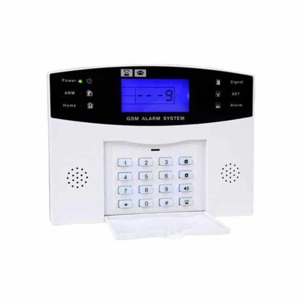 31491 - Комплексная система безопасности 20 в 1 YA-500-GSM-33 - ИК и дверные датчики, сирена, датчик дыма, сигнал тревоги и оповещения