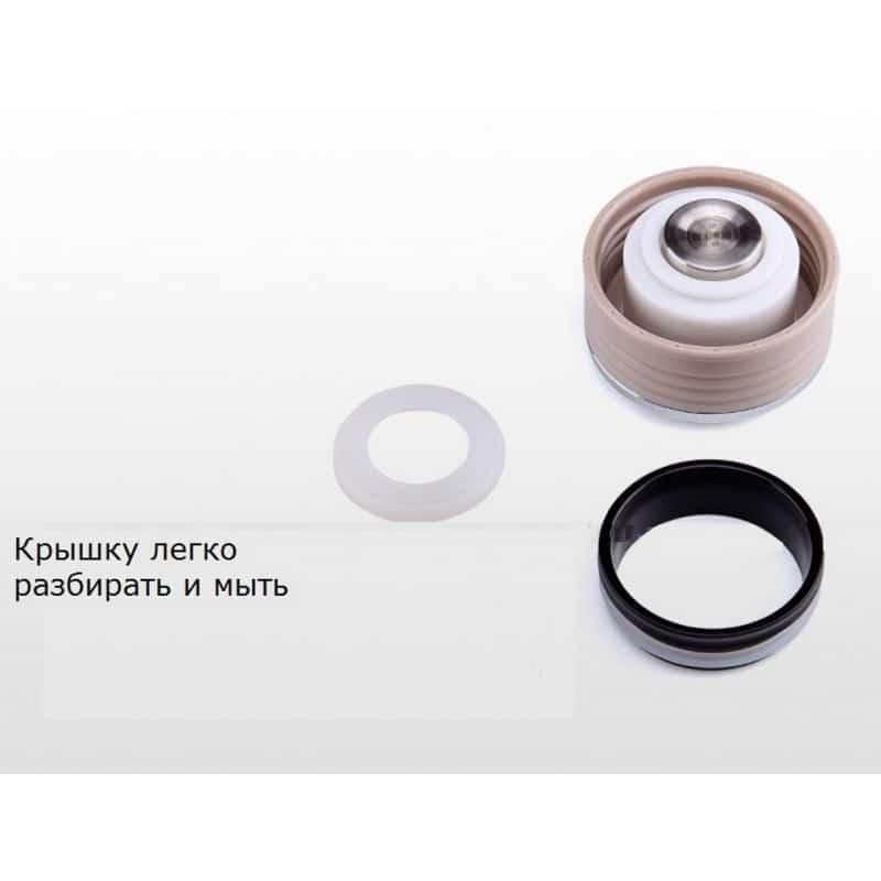 Компактный стильный термос Fu Guang Style – 350 мл, до 24 часов сохранения температуры, нержавеющая сталь 208128