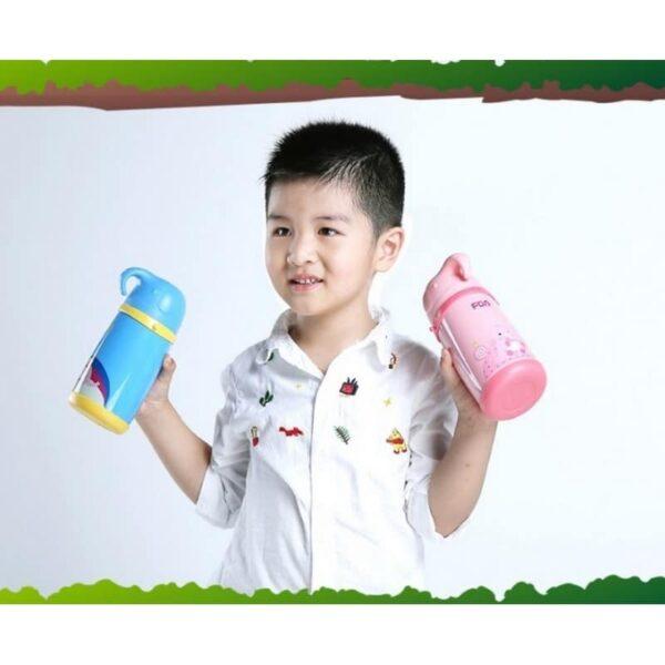 31582 - Детский термос Fu Guang Elephant с чашкой (480 мл)