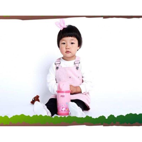 31583 - Детский термос Fu Guang Elephant с чашкой (480 мл)