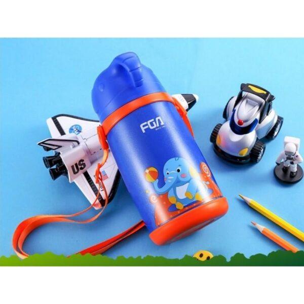 31585 - Детский термос Fu Guang Elephant с чашкой (480 мл)