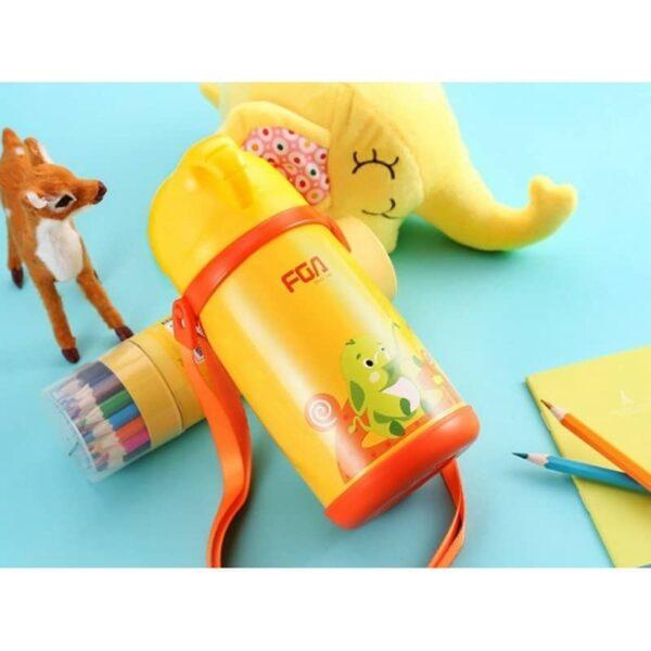 31589 - Детский термос Fu Guang Elephant с чашкой (480 мл)