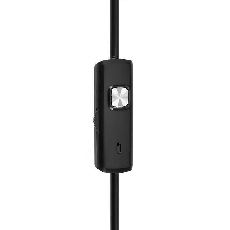 Wi-Fi видеоэндоскоп A830: 2 м кабель, IP67, 720p, камера 8 мм, 6 x LED, угол обзора 70°, 600 мАч, поддержка Android/iOS/Windows 208172