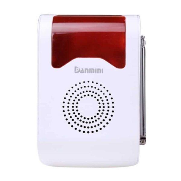 31664 - Домашняя система безопасности YA-302B-1 9 в 1 - сирена 110 дБ, кнопка SOS, 2 пульта ДУ, 2 PIR датчика, 4 дверных датчика