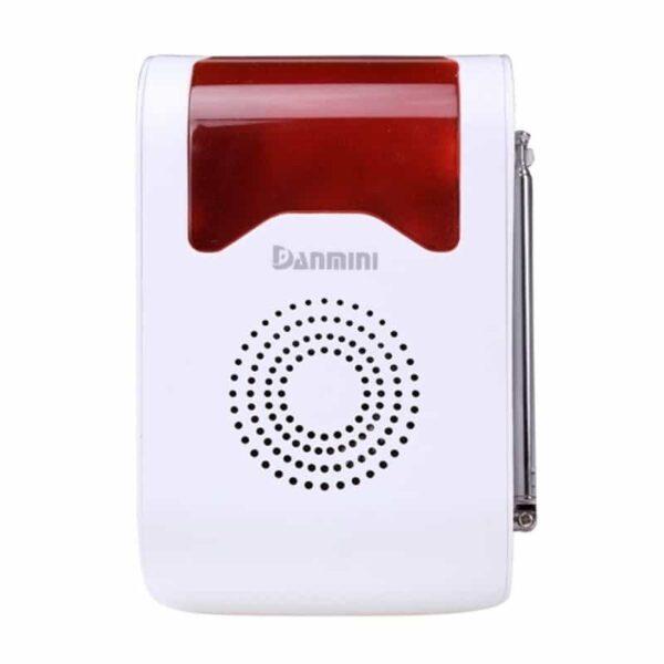 31677 - Охранная система для вашего дома YA-302-21 11 в 1 - 110 дБ сирена, SOS кнопка, 3 пульта ДУ, 2 PIR датчика, 5 дверных датчиков
