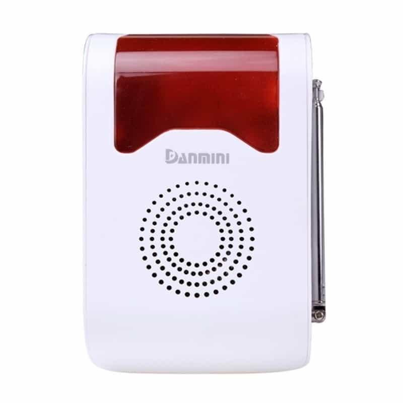 Охранная система для вашего дома YA-302-21 11 в 1 – 110 дБ сирена, SOS кнопка, 3 пульта ДУ, 2 PIR датчика, 5 дверных датчиков 208228