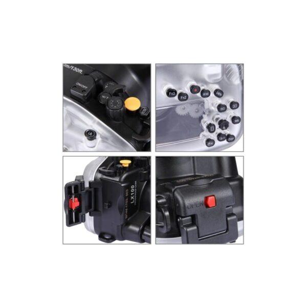 31688 - Водонепроницаемый корпус/ подводный чехол/ аквабокс PULUZ для камеры Canon G7 X Mark II (черный)