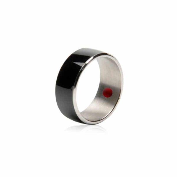 31700 - Умное кольцо JAKCOM R3F (черное): титан, IP68, NFC, быстрая разблокировка, защита данных, Push-сообщения, электронные визитки