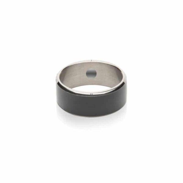 31701 - Умное кольцо JAKCOM R3F (черное): титан, IP68, NFC, быстрая разблокировка, защита данных, Push-сообщения, электронные визитки