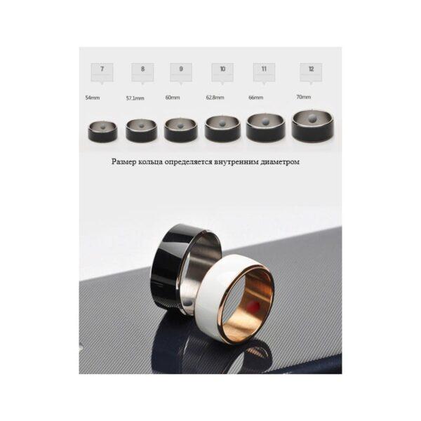 31713 - Умное кольцо JAKCOM R3F (черное): титан, IP68, NFC, быстрая разблокировка, защита данных, Push-сообщения, электронные визитки
