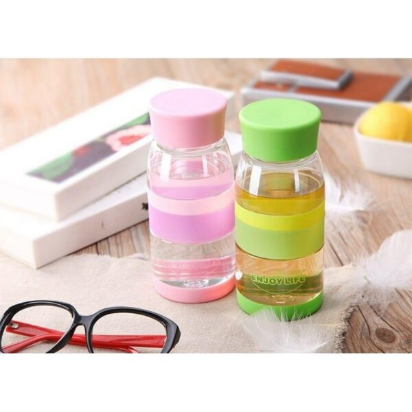 31752 - Легкая пластиковая бутылка для воды Fu Guang Light - 450 мл, 110 г