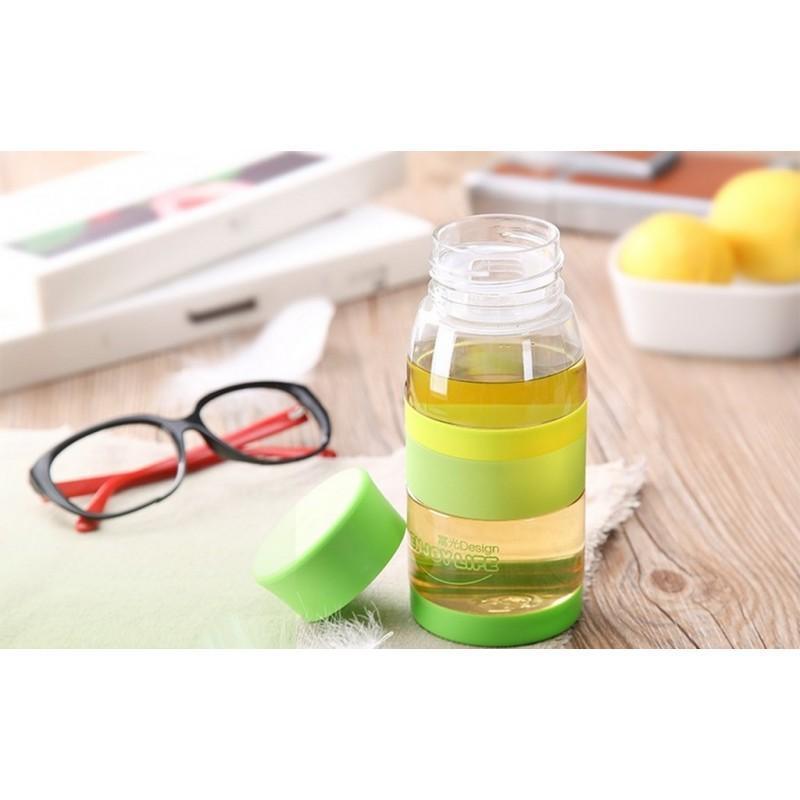 31753 - Легкая пластиковая бутылка для воды Fu Guang Light - 450 мл, 110 г