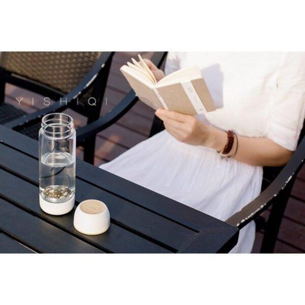 31766 - Бутылка для воды с эффектом минерализации Fu Guang Stone