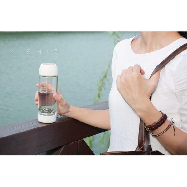 31769 - Бутылка для воды с эффектом минерализации Fu Guang Stone