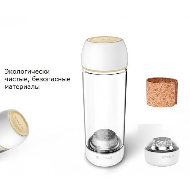 Бутылка для воды с эффектом минерализации Fu Guang Stone 208312