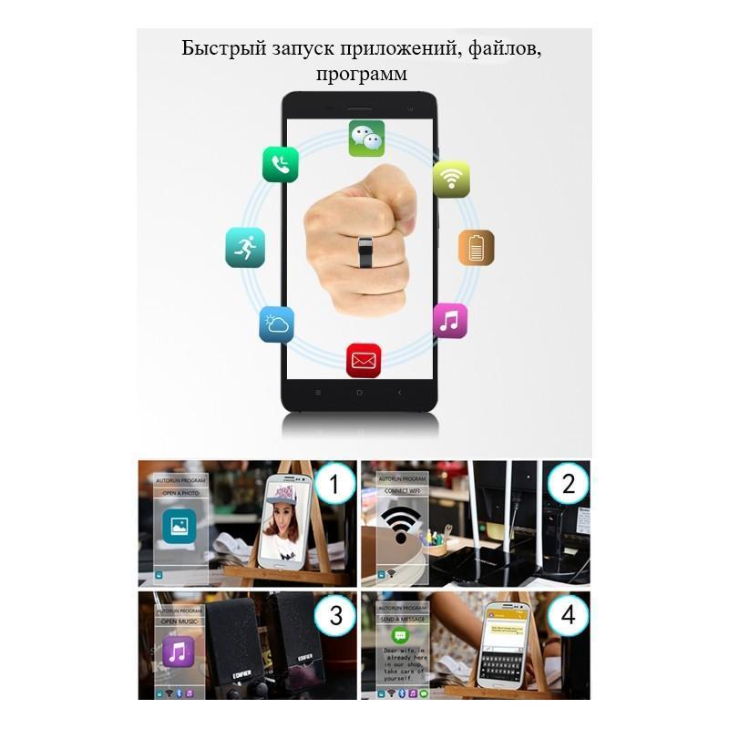 Умное кольцо JAKCOM R3F (розовое золото): титан, IP68, NFC, быстрая разблокировка, передача и защита данных, цифровые визитки 208380
