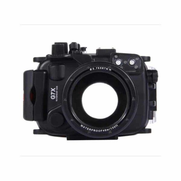 31882 - Водонепроницаемый корпус/ подводный чехол/ аквабокс PULUZ для камеры Canon G7 X (черный)