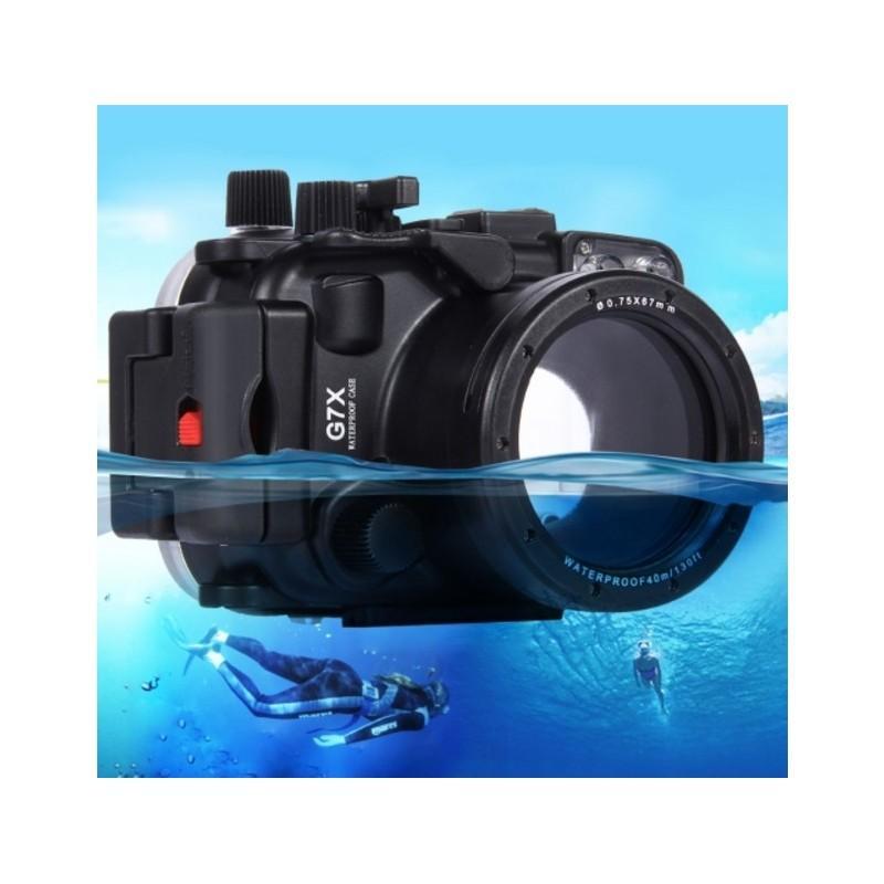 Водонепроницаемый корпус/ подводный чехол/ аквабокс PULUZ для камеры Canon G7 X