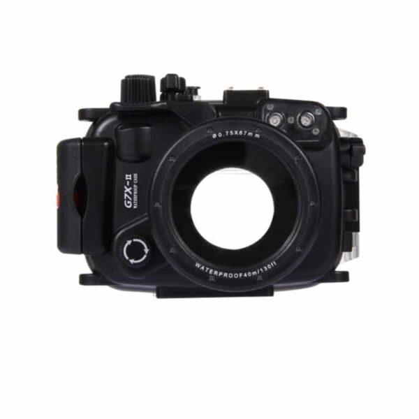 31909 - Водонепроницаемый корпус/ подводный чехол/ аквабокс PULUZ для камеры Canon G7 X Mark II (черный)