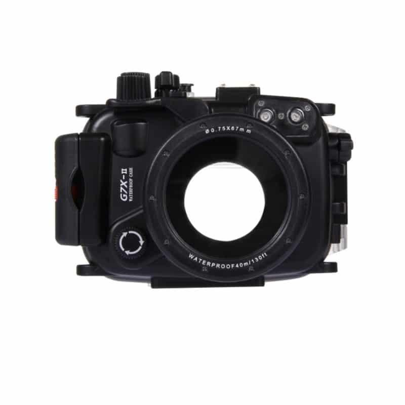 Водонепроницаемый корпус/ подводный чехол/ аквабокс  PULUZ для камеры Canon G7 X Mark II (черный) 208241