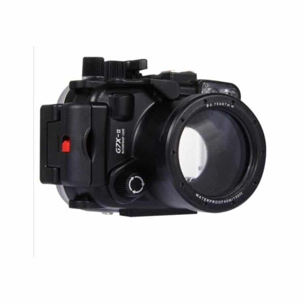 31910 - Водонепроницаемый корпус/ подводный чехол/ аквабокс PULUZ для камеры Canon G7 X Mark II (черный)