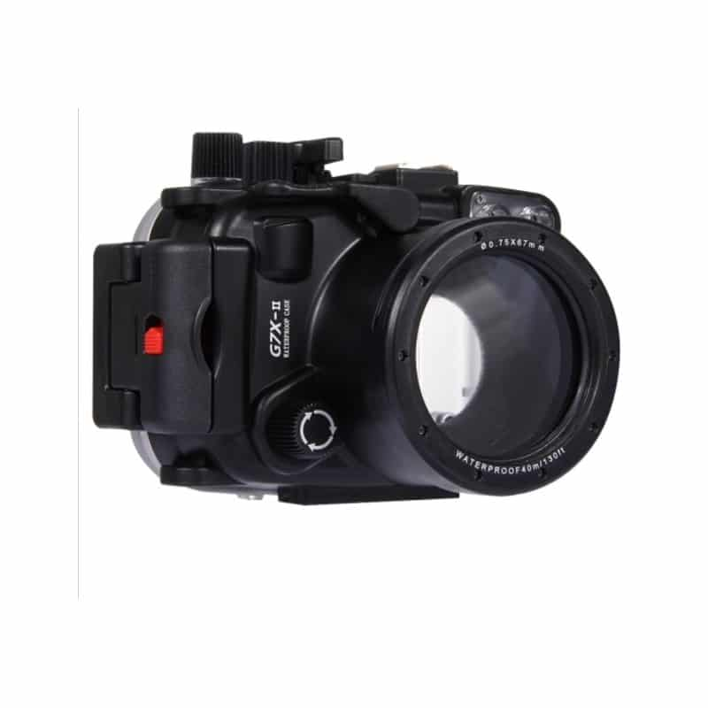 Водонепроницаемый корпус/ подводный чехол/ аквабокс  PULUZ для камеры Canon G7 X Mark II (черный) 208242