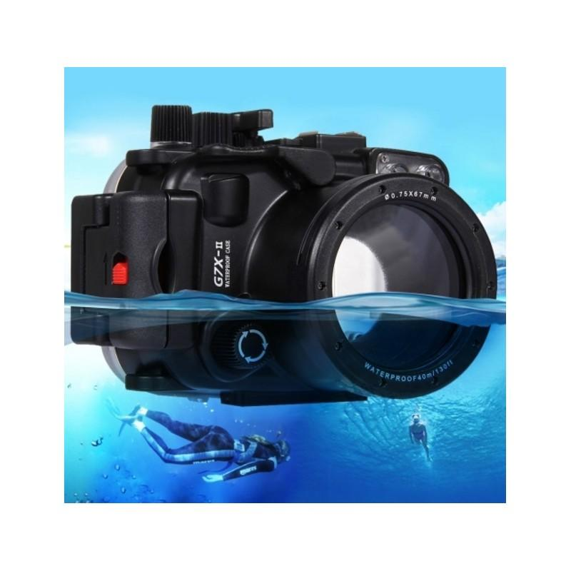 Водонепроницаемый корпус/ подводный чехол/ аквабокс PULUZ для камеры Canon G7 X Mark II