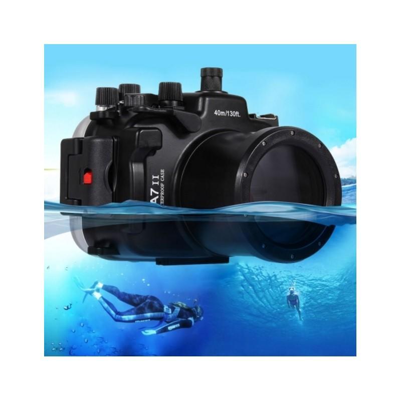 Водонепроницаемый корпус/ подводный чехол/ аквабокс  PULUZ для камеры Sony A7 II /A7R II (черный)