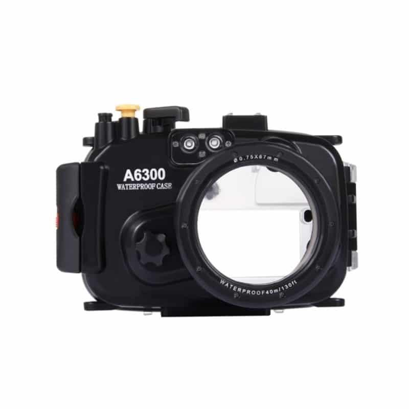Водонепроницаемый корпус/ подводный чехол/ аквабокс  PULUZ для камеры Sony A6300 (черный) 208401