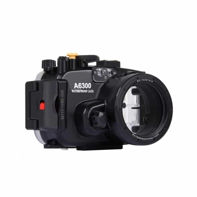 Водонепроницаемый корпус/ подводный чехол/ аквабокс  PULUZ для камеры Sony A6300 (черный) 208402