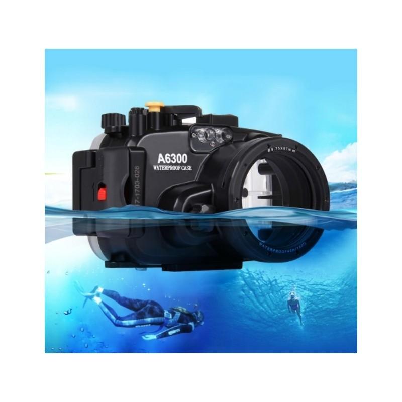 Водонепроницаемый корпус/ подводный чехол/ аквабокс  PULUZ для камеры Sony A6300 (черный)