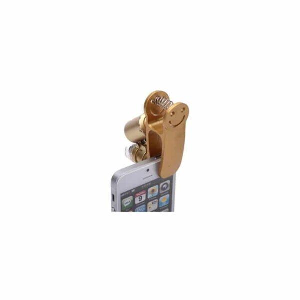 32019 - Мобильный 60х микроскоп для смартфона с клипсой + УФ-детектор валют