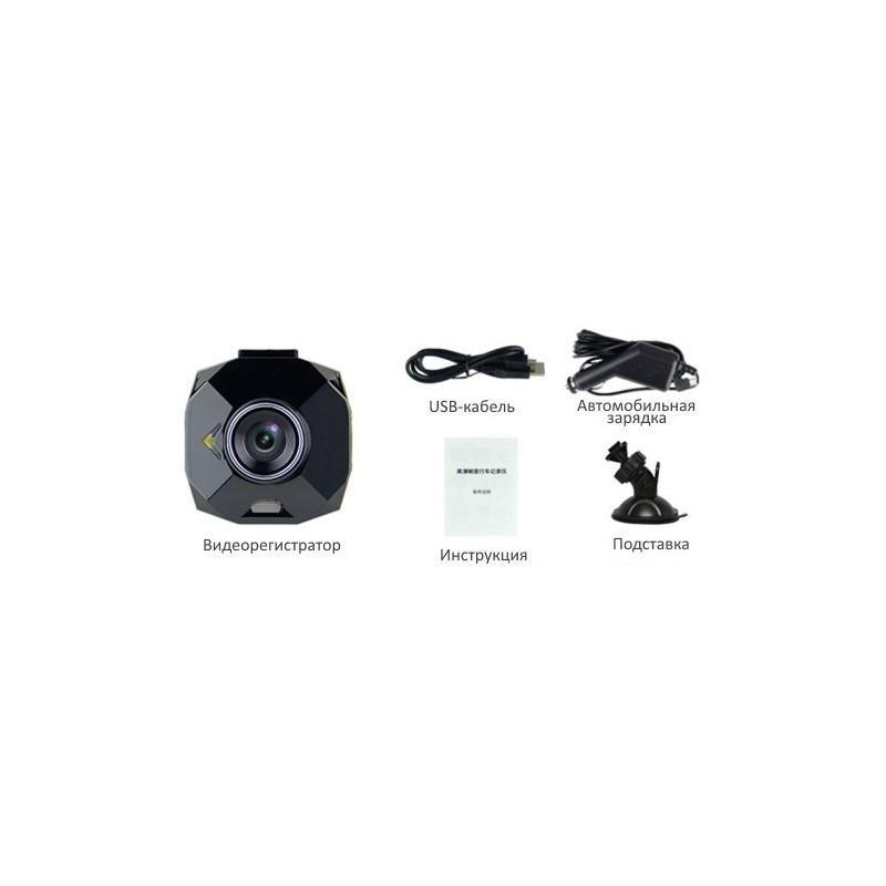 Автомобильный видеорегистратор Road Guard – 1080p, 2.4 дюйма, 160 градусов, циклическая запись, датчик движения, G-сенсор 183468