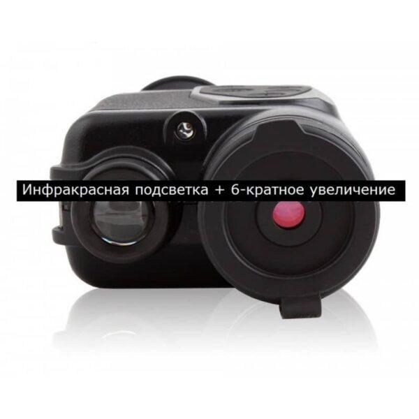 32277 - Монокуляр Bijia 6х32 с лазерной ИК подсветкой - AV-выход, USB зарядка, до 200 м в темноте