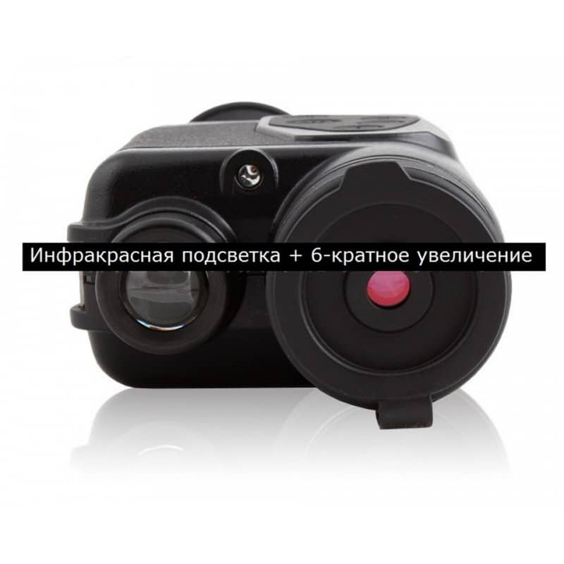 Монокуляр Bijia 6х32 с лазерной ИК подсветкой – AV-выход, USB зарядка, до 200 м в темноте 208733