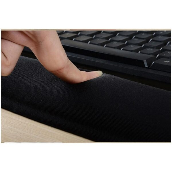 32344 - Комплект: Подставка под запястья из Memory Foam для клавиатуры + Эргономичный коврик для мышки U-LITA от туннельного синдрома