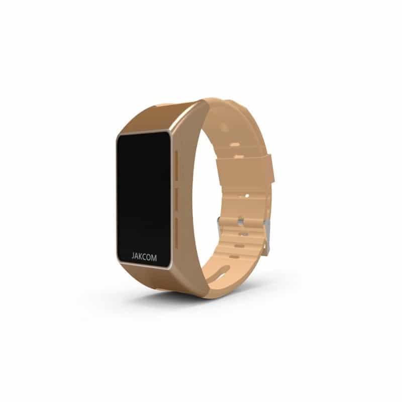 Умный браслет Jakcom B3 3 в 1: часы, фитнес-трекер, Bluetooth-гарнитура - Золотистый