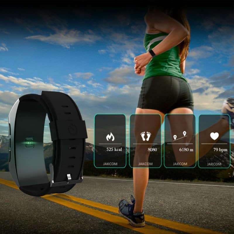 Умный браслет Jakcom B3 3 в 1: часы, фитнес-трекер, Bluetooth-гарнитура 208958