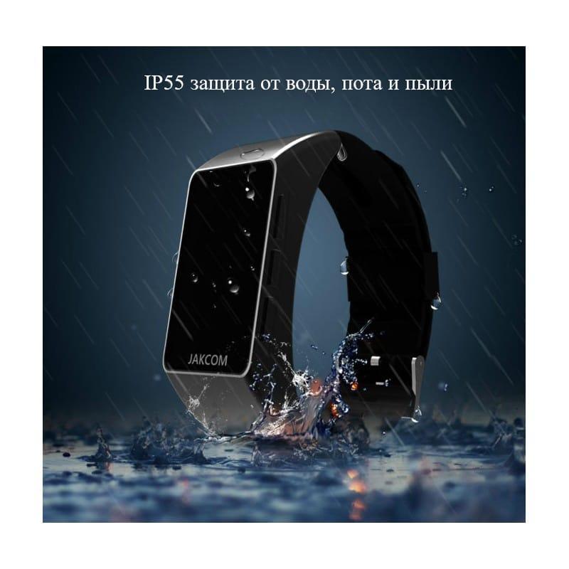 Умный браслет Jakcom B3 3 в 1: часы, фитнес-трекер, Bluetooth-гарнитура 208960