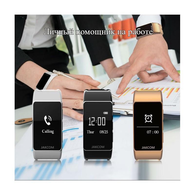 Умный браслет Jakcom B3 3 в 1: часы, фитнес-трекер, Bluetooth-гарнитура 208964